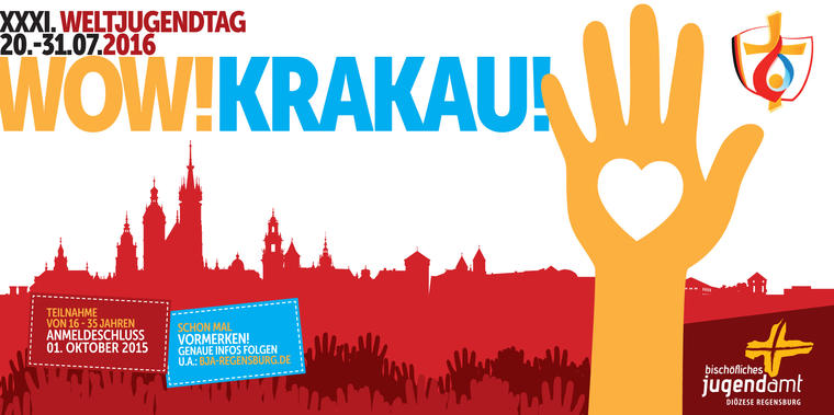 Flyer Weltjguendtag in Krakau